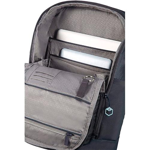 interior de la mochila hexa packs