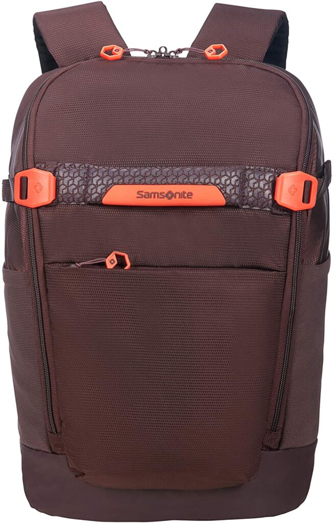 parte frontal de la mochila Hexa Packs Samsonite