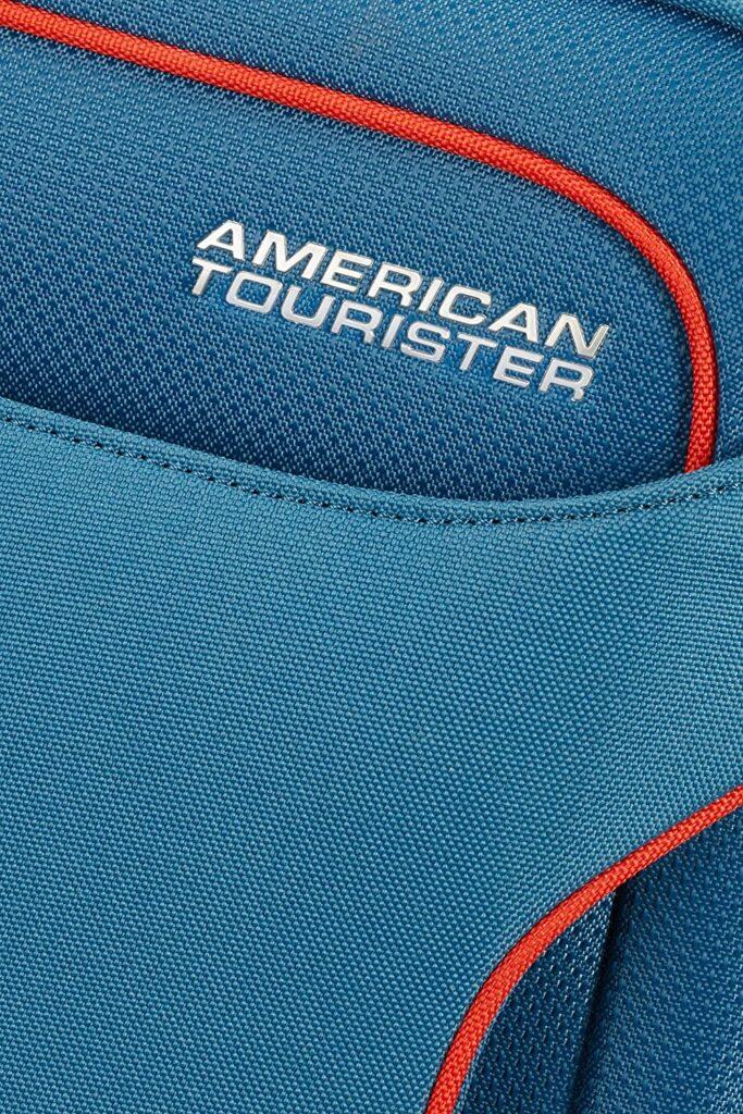 costuras  de la maleta Holiday Heat American Tourister