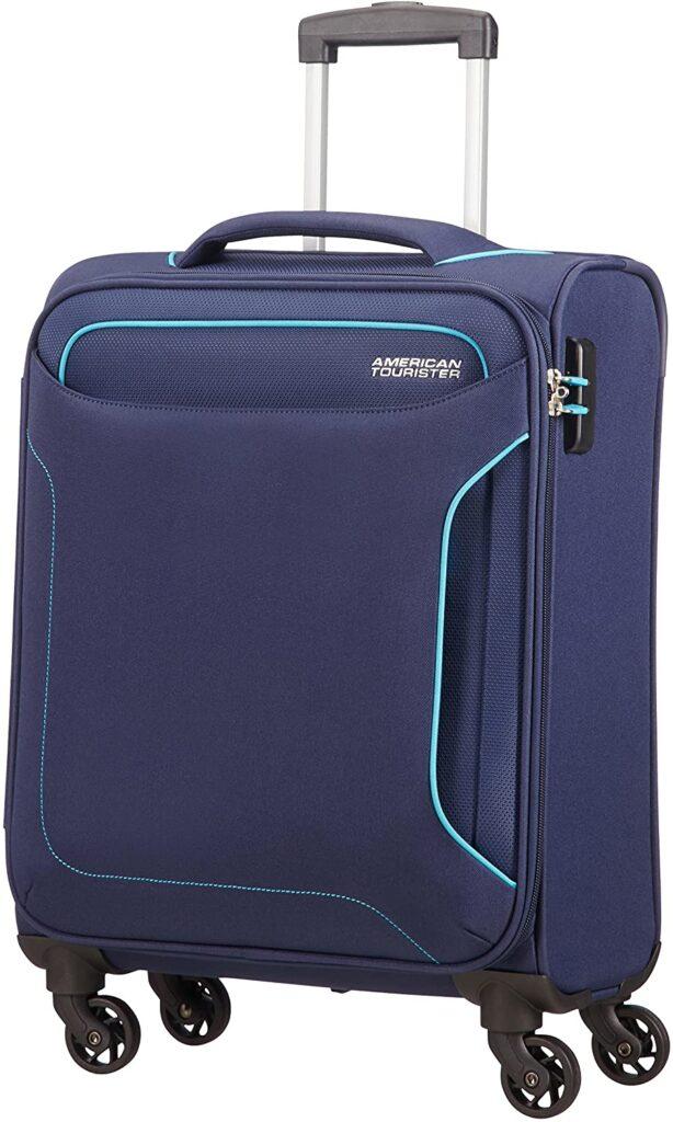 maleta Holiday Heat American Tourister azul oscuro
