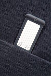 etiqueta identificativa de la maleta base boost