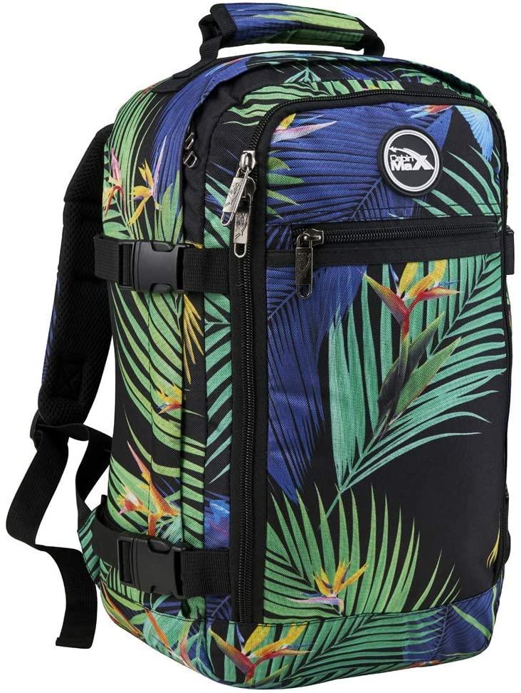 mochila Cabin Max estampado tropical