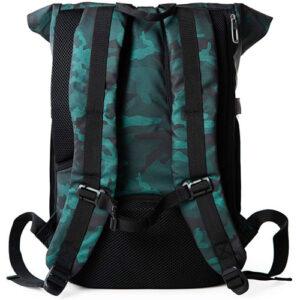 respaldo acolchado de una mochila