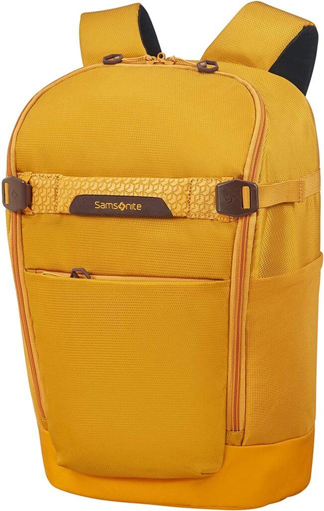 mochila Hexa Packs Samsonite amarilla