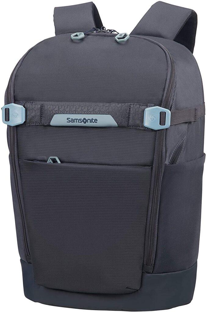 mochila Hexa Packs Samsonite gris oscuro