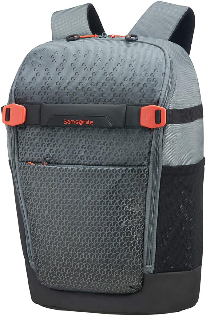 mochila Hexa Packs Samsonite gris claro