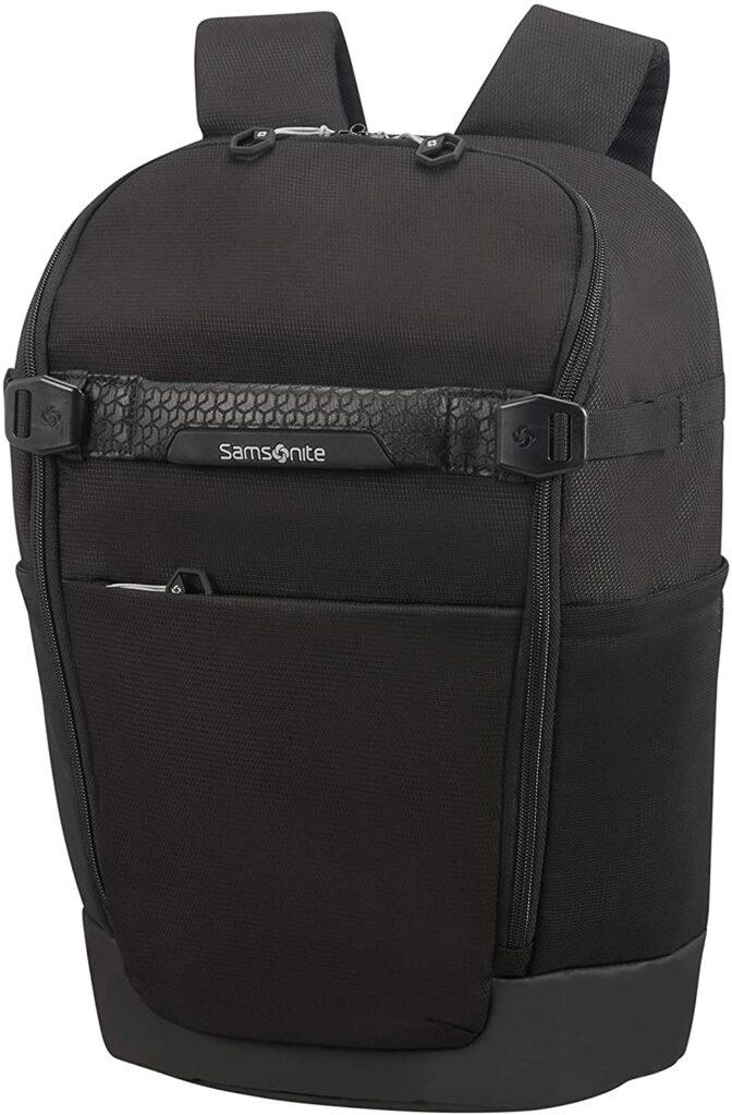 mochila Hexa Packs Samsonite negra