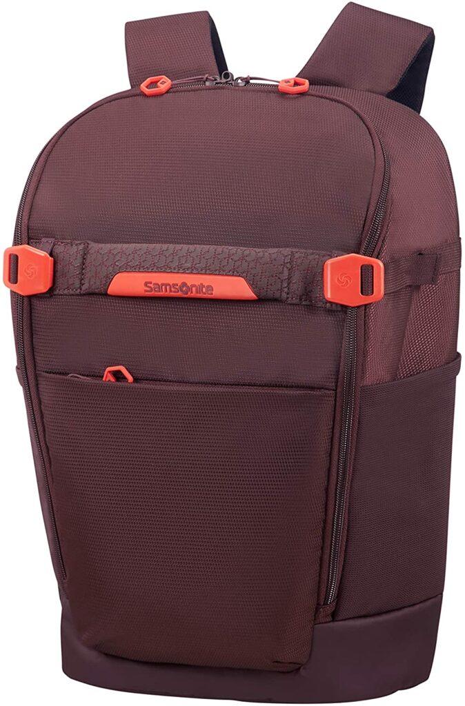 mochila Hexa Packs Samsonite roja