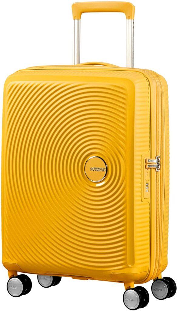 American Tourister Soundbox amarilla