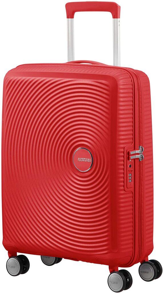 American Tourister Soundbox roja