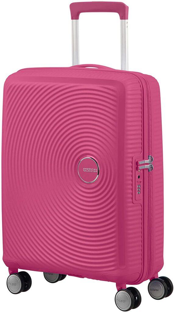 American Tourister Soundbox rosa