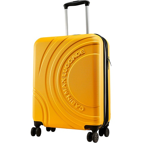 maleta velocity cabin max amarilla