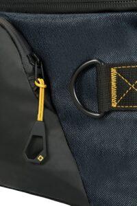 costuras resistentes de maleta samsonite blanda