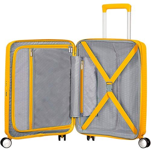 distribución de la maleta soundbox