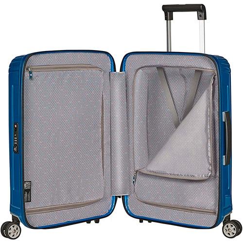distribución interior de equipaje