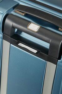 etiqueta identificativa  de la maleta neopulse de samsonite