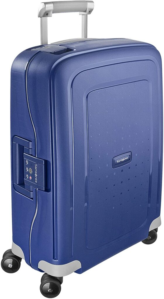 maleta Samsonite S'Cure azul