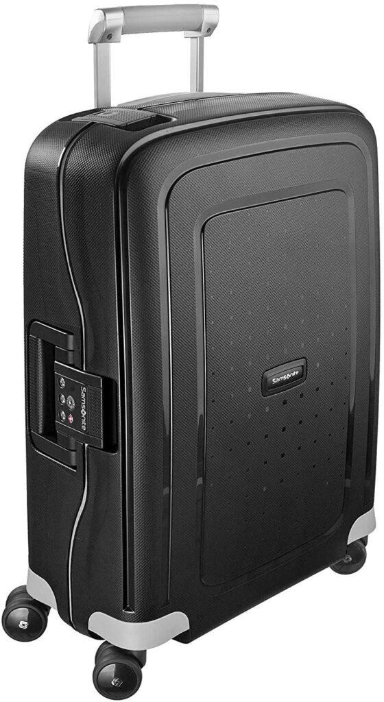 maleta Samsonite S'Cure negra