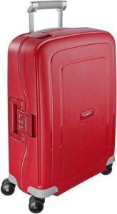 maleta S'Cure de Samsonite roja
