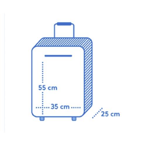 maleta de mano air europa