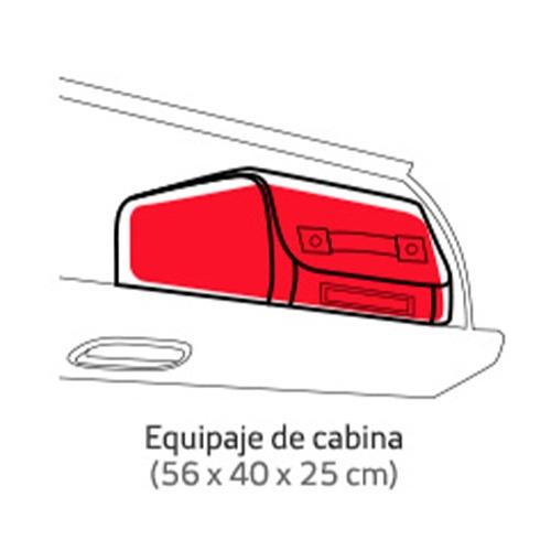 maleta de mano de Iberia