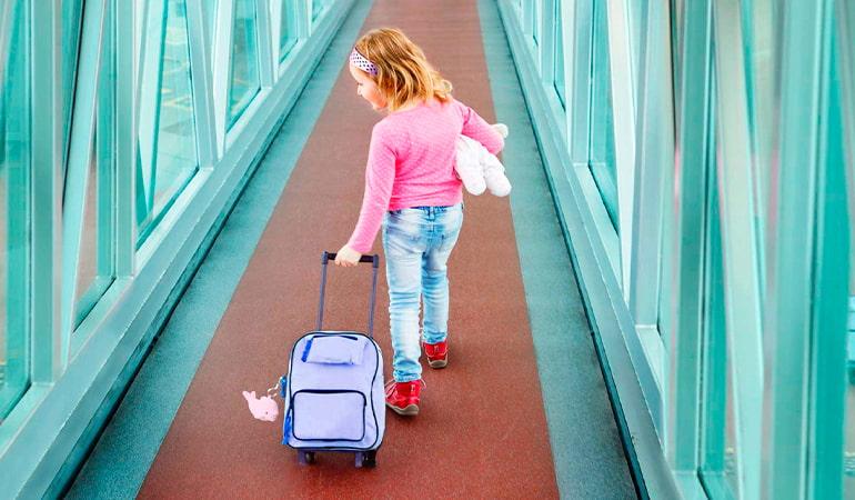 elegir maletas infantiles