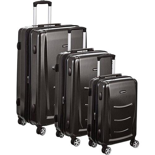 juego de maletas amazon basics