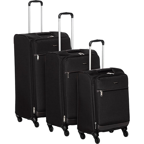 set de maletas blandas amazonbasics