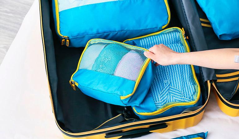 organizador de maleta de calidad