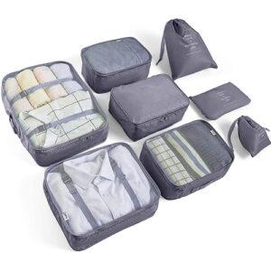 lote de bolsas organizadoras de maleta