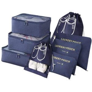 pack de bolsas para organizar el equipaje