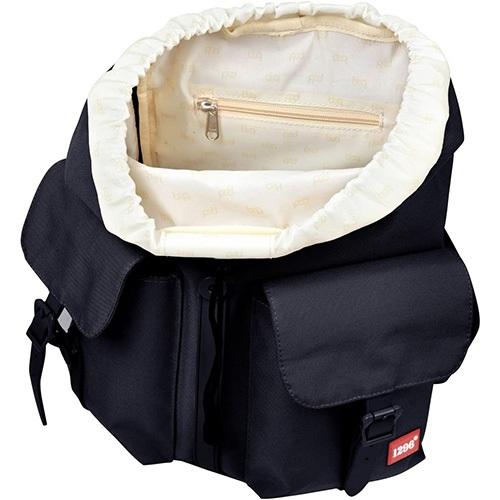 compartimento interior de la mochila
